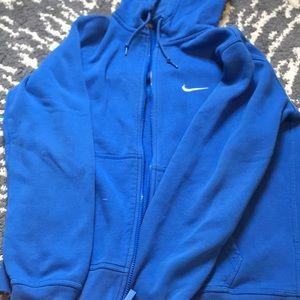 Blue Nike Zip up